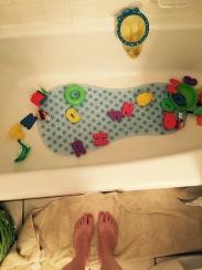 bath feet